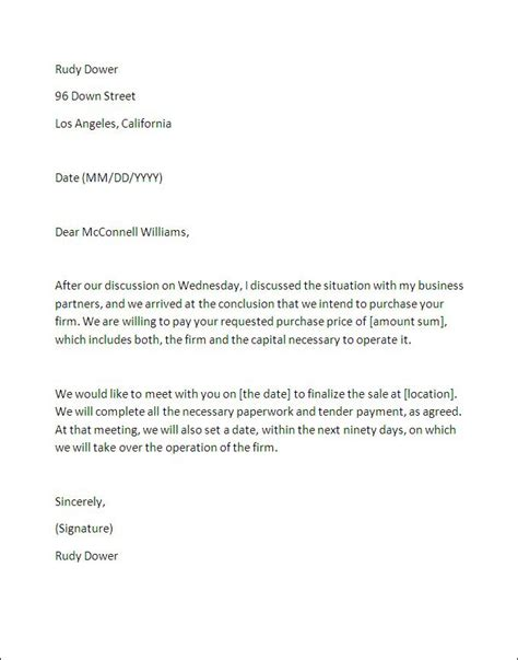 business letter of intent exles best photos of business letter of intent letter of
