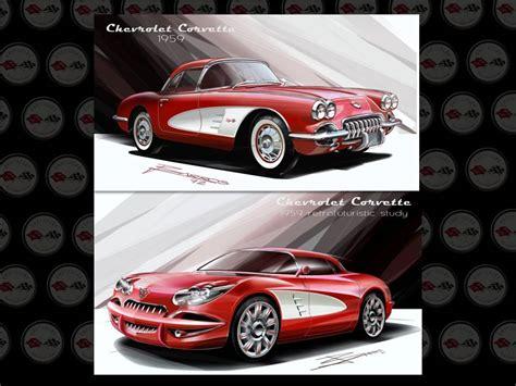 retired gm designer creates modern 1959 corvette design
