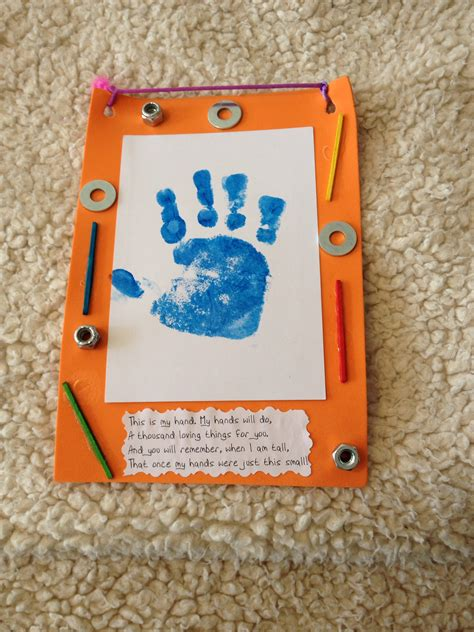 fathers day crafts for preschool s day toddler craft made with a foam frame painted