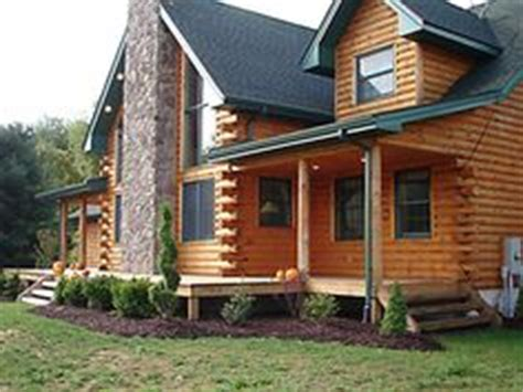 cabin landscape on cabin landscaping and log