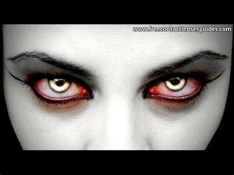 vampire contacts for dark eyes: vampire contact lenses