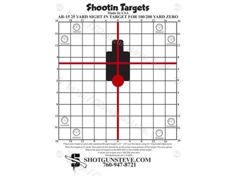 printable targets ar15 50 yard zero target pictures to pin on pinterest pinsdaddy
