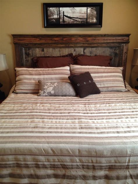 Diy Rustic Headboard Diy Headboard Rustic For The Home