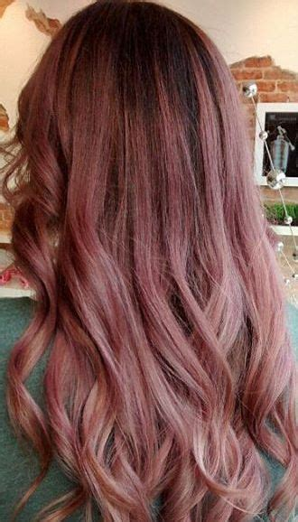 Pink Hair Brown Shadow Root Chocolate Strawberry Ombre Of Chocolate Strawberry Hair Color Best 25 Gold Highlights Ideas On Gold Balayage Brown Hair Gold