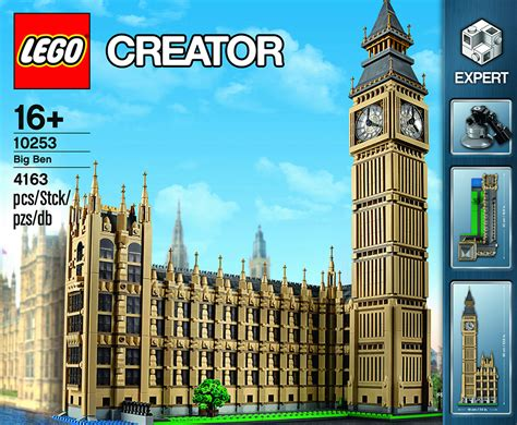 London Clock Tower by Lego Creator Big Ben The Awesomer