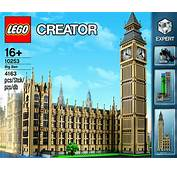 LEGO Creator Big Ben  The Awesomer