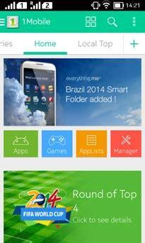 1 mobile market app store 5 app store terbaik pengganti play store di nokia x series
