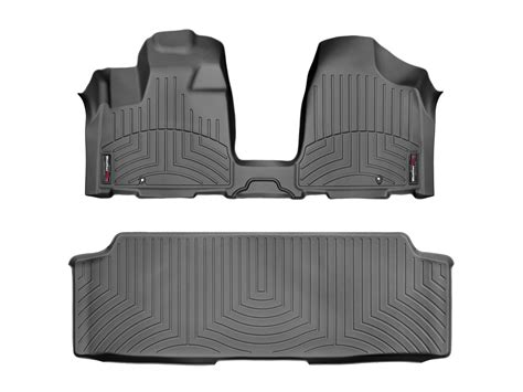dodge caravan bench seat weathertech floorliner for dodge grand caravan w bench seat 2013 2017 black ebay