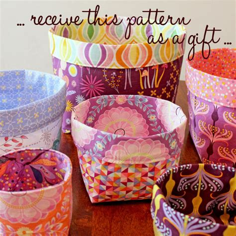 pattern fabric bucket kayajoy 187 last week for the free pattern chance to win