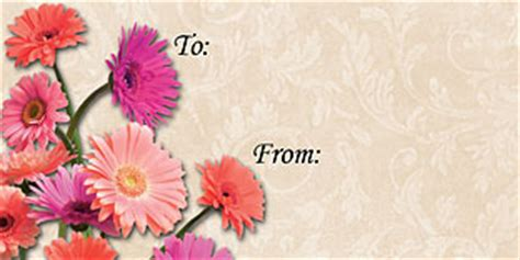 free printable gift tags for all occasions free printable all occasion daisy gift tags