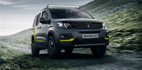 peugeot 4 by 4 peugeot rifter 4 215 4 concept revealed