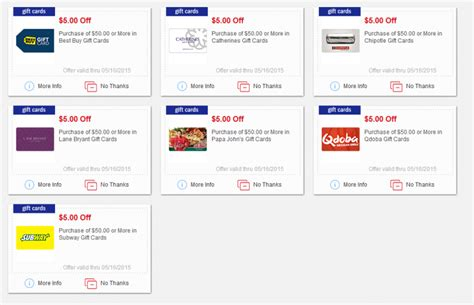 Best Buy Gift Card Promotion - new meijer mperks gift card coupons subway best buy chipotle and more bargains