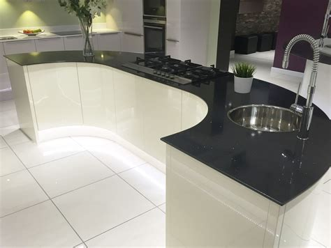 kitchen island worktops uk modern kitchen island design in gloss ivory with large