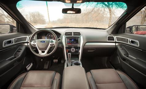 Ford Explorer 2013 Interior by Car And Driver