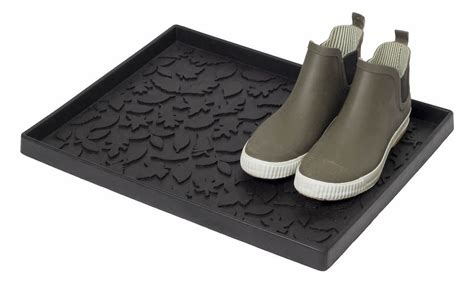 buy tica copenhagen shoe and boot tray leaves small