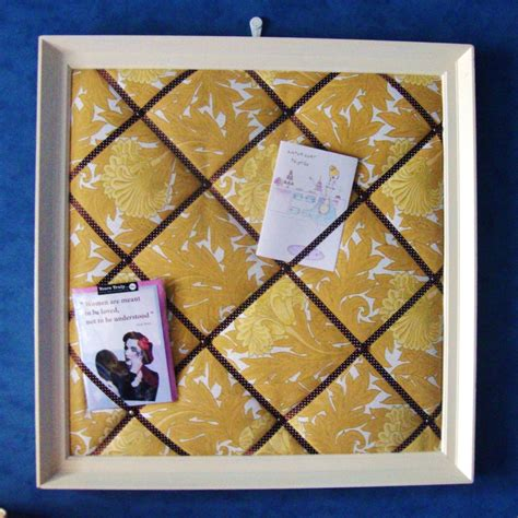 upholstery board how to make a fabric notice board guest post red