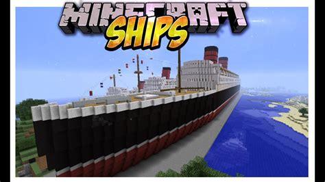 imagenes de barcos minecraft ships mod crea barcos gigantes modernos y usalos