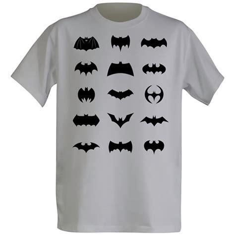 The Addicted T Shirt Logo White all batman logos t shirt