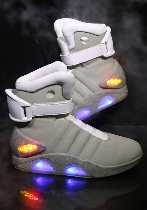 hoverboard light up shoes bttf 2 light up shoes available for purchase ohgizmo