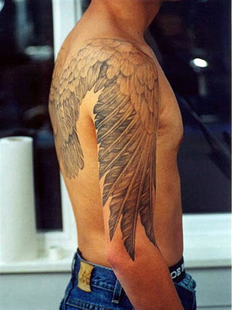wing shoulder tattoo 35 graceful wings shoulder tattoos