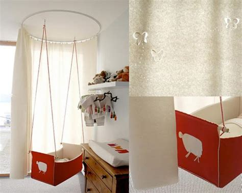 modern baby room furniture 35 suspended cradles modern baby room ideas and