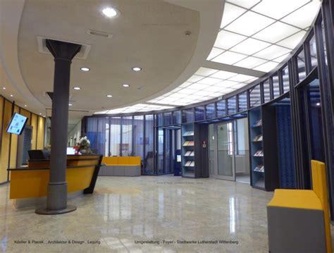 foyer gestalten gestaltung foyer stadtwerke wittenberg