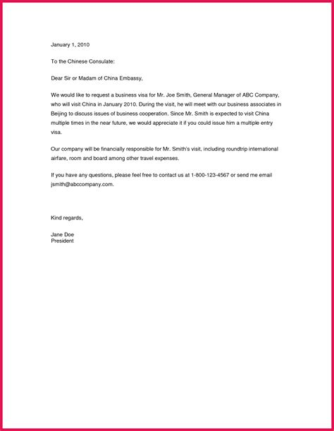 Business Letter Format Usa invitation letter for visa usa sop exles