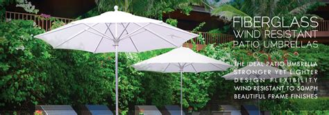 Wind Resistant Patio Umbrella Wind Resistant Patio Umbrellas Fiberglass Rib Patio Umbrellas Ipatioumbrella