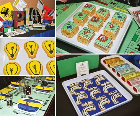 monopoly themed 1st birthday my sweet and saucy 26 best images about monopoly themed on