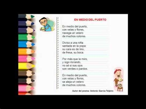 poemas infantiles de 4 estrofas video para hacer un poema espa 241 ol parte 1 youtube