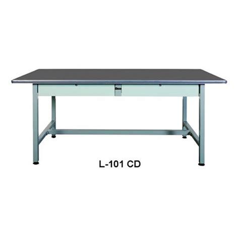 Jual Meja Lipat Hpl Diskon 20170818 1 jual meja kantor l 101 cd murah harga spesifikasi