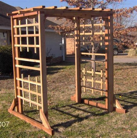 4 Foot Wide Trellis Made In The Usa