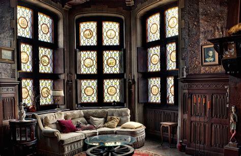 fashion home interiors gothic style interior design ideas