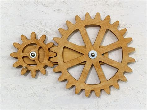 mechanical decor mechanical wall art kinetic wall art decor rotating wooden