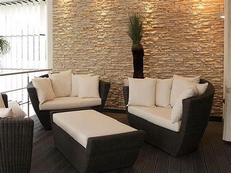 pareti soggiorno in pietra finiture d interni per appartamenti soluzioni