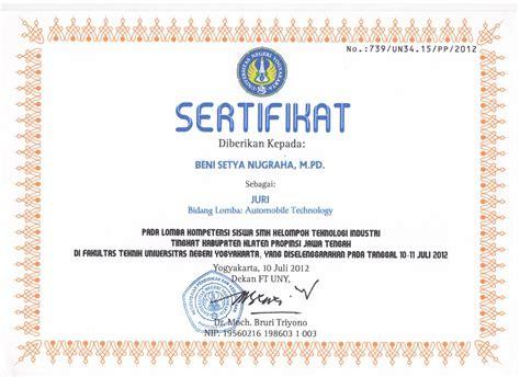 contoh sertifikat contoh sertifikat tpa joy studio design gallery best