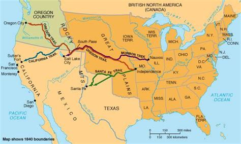 map of oregon territory 1840 unit 8 manifest destiny mr tucker s class