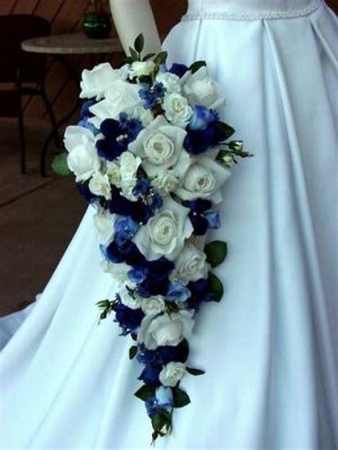 Blue Wedding Bouquets by De Beautiful Wedding Bouquet Blue Wedding Dress Collection