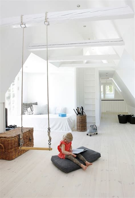 swing in home fun homes that feature indoor swings and stay casual
