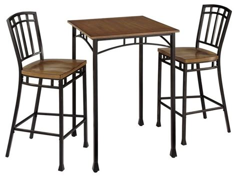 Wood Frames For Bathroom Mirrors - modern craftsman 3 piece bistro set contemporary indoor pub and bistro sets by ivgstores