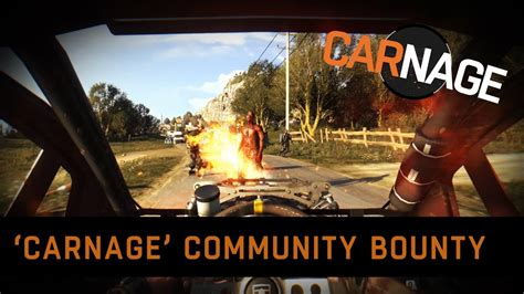 dying light community event dying light carnage community bounty announcement
