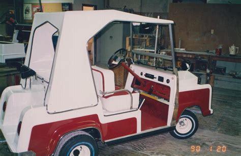 Rolls Royce Golf Cart by Gallery Vintage Golf Cart