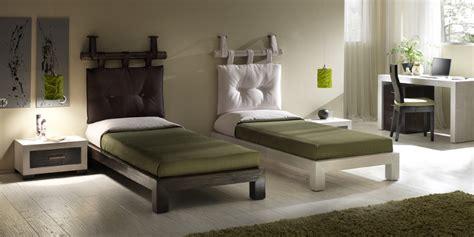letti singoli in legno massello mobili etnici letti singoli legno massello su misura