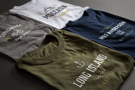 Printed Mock Two Shirt two photorealistic t shirt free mockups free mockup