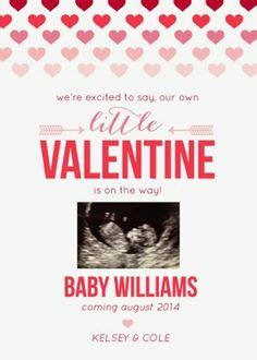 valentines day baby announcement pregnancy announcement on pregnancy