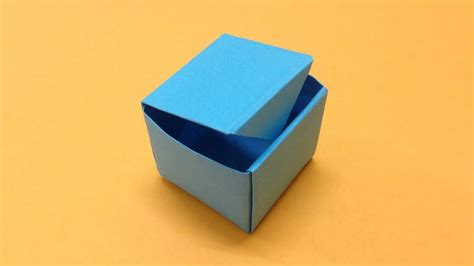 Origami Balloon Box - how to make a paper box easy origami paper box for