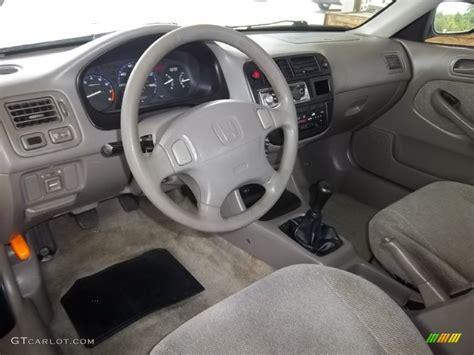 beige interior 1998 honda civic lx sedan photo 53476213