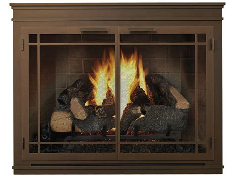 Fireplace Screens Atlanta by Glass Doors Custom Fit The Fireplace Place