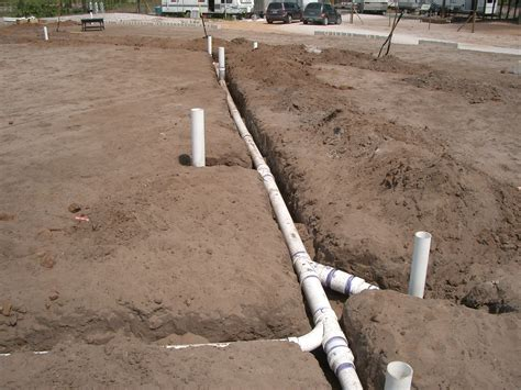 Slab Plumbing In by Alpacas Around The House