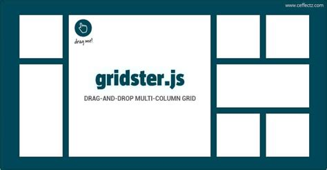 photo layout com drag and drop grid elements gridster js ceffectz